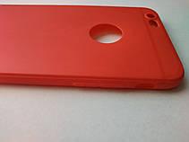 Стильный чехол бампер для iphone 6 6S красный, фото 3