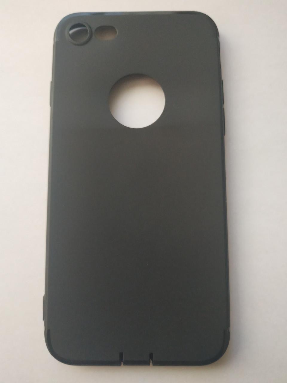 Стильный чехол бампер для iPhone 7/8 черный