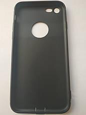 Стильный чехол бампер для iPhone 7/8 черный, фото 2