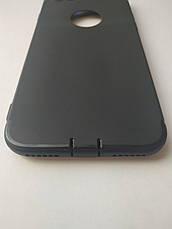 Стильный чехол бампер для iPhone 7/8 черный, фото 3