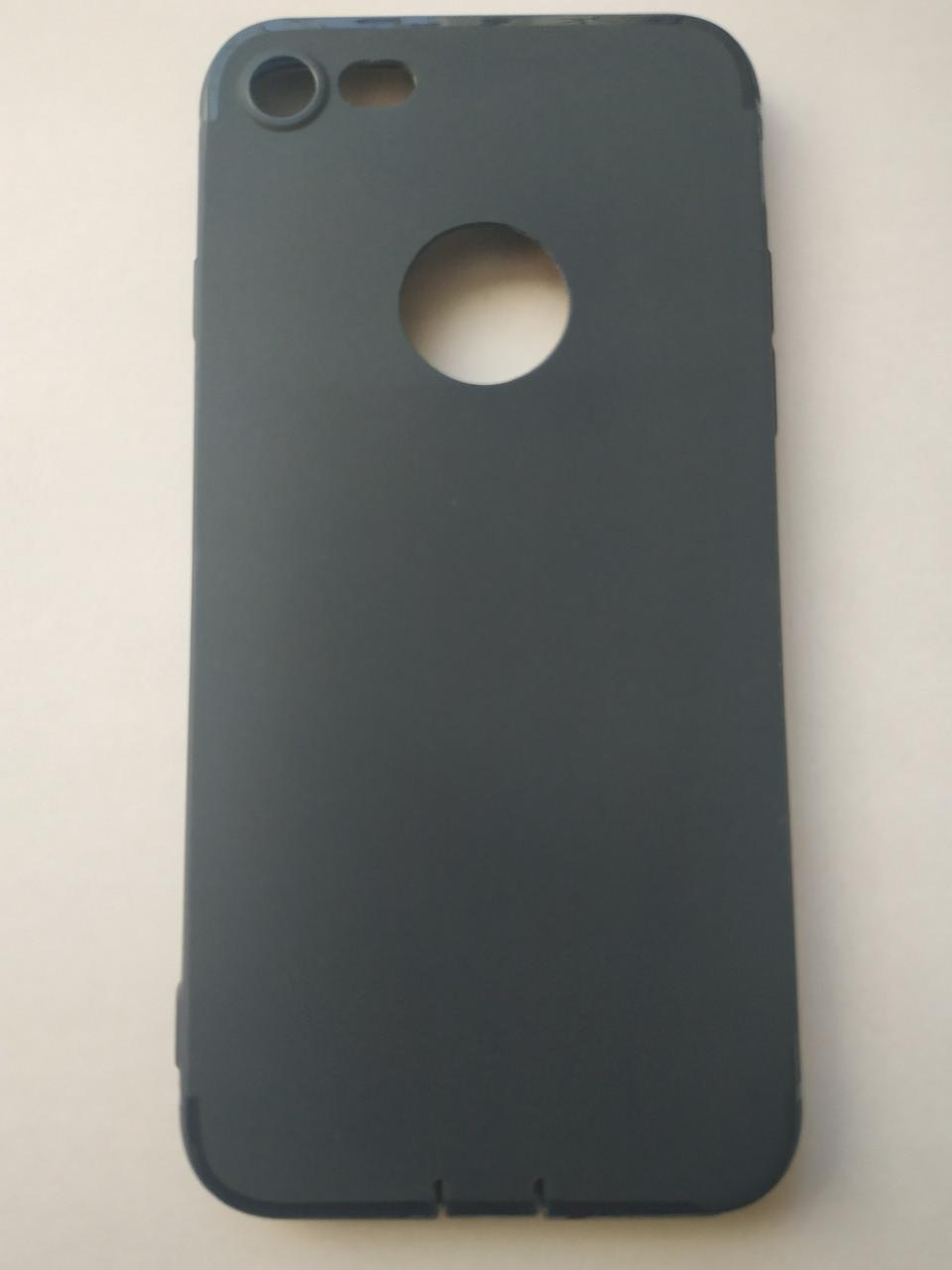 Стильный чехол бампер для iPhone 7/8 синий