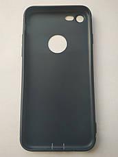 Стильный чехол бампер для iPhone 7/8 синий, фото 2