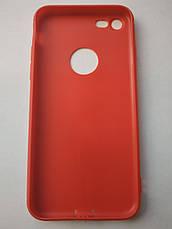 Стильный чехол бампер для iPhone 7/8 красный, фото 2