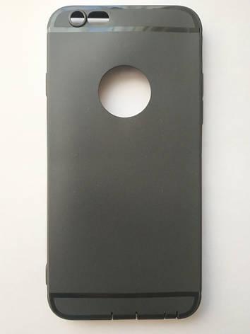 Стильный чехол бампер для iPhone 6 Plus/6S Plus черный, фото 2