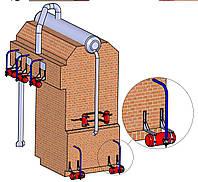 Система автоматической очистки поверхности теплообмена водотрубного котла
