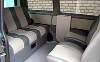 Перетяжка салонов микроавтобусов