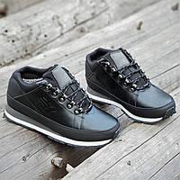 55abaa49 Кроссовки ботинки зимние кожаные New Balance 754 реплика мужские черные  легкие подошва пенка (Код: