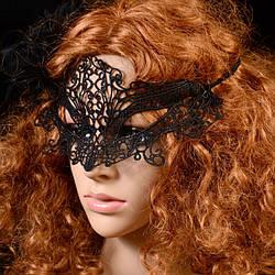 Карнавальная кружевная маска 2