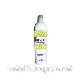 Кератиновий відновлюючий бальзам 500мл Keratin Deep conditioner