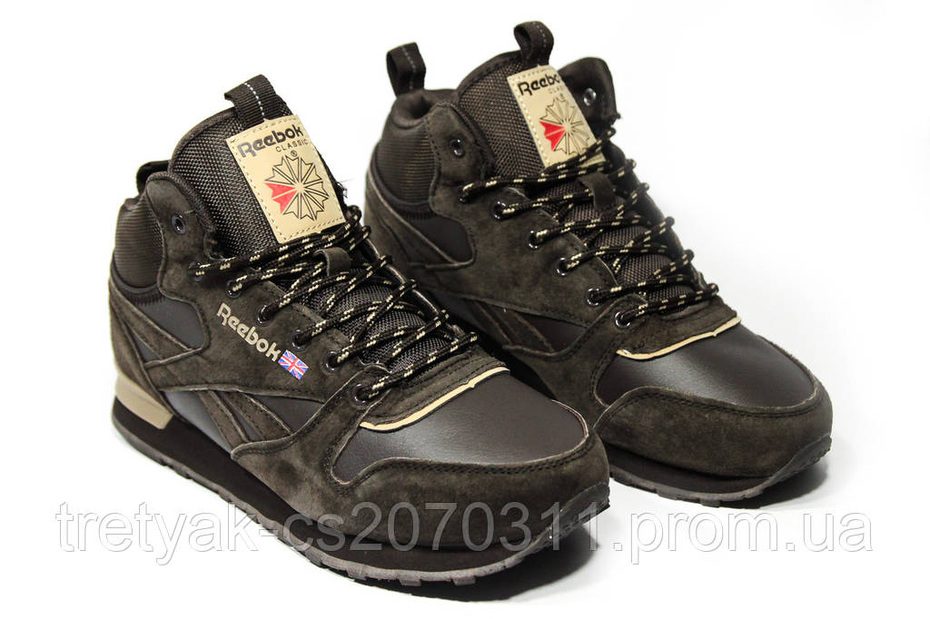 Ботинки мужские Reebok Classic 2-086 (реплика)