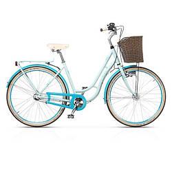 "Велосипед 28"" CROSS Picnic рама 19"" 2017 голубой"