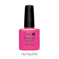 CND Shellac Hot Pop Pink, 7,3мл