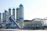 Стационарные бетонные заводы производительностю 90/120/150/180м3/час.