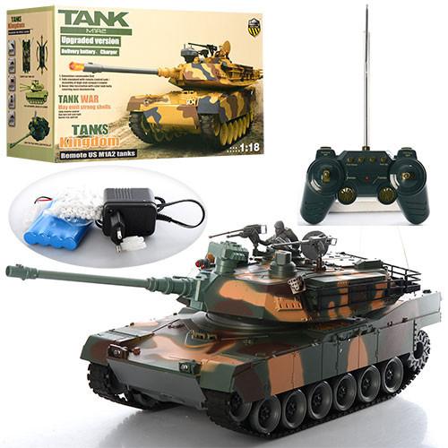 Игрушка Танк 2865-1 на радиоуправлении M1A2 на пульках