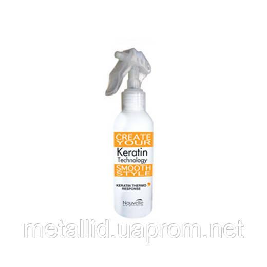 Кератиновий термозахисний спрей для волосся 150мл Keratin Thermo Reponse