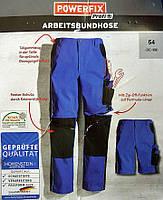Рабочие брюки Powerfix Arbeitshose, Германия. С отстегивающейся штаниной. Брюки - шорты. Рабочие штаны 2 в 1.