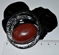 Резинка для волос с натуральным камнем