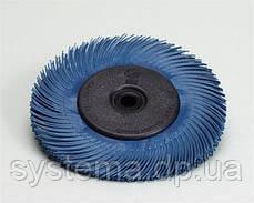 3M™ 33214 Scotch-Brite™ Bristle BB-ZB - Радиальная щетка, ø150Х12 мм, Р400, тип C, синий, фото 3