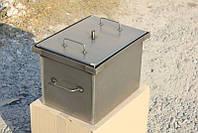 Коптильня с гидрозатвором для горячего копчения (400х300х280