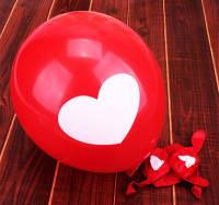 Воздушный Шар Кокетливое Сердце на День Влюбленных 35 см
