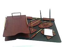 Офисный набор 7S-1A из дерева и металла