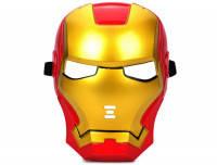 Карнавальная Пластиковая Маска из Кинофильма Железный Человек Iron Man Прикол для Вечеринки