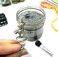 Пигменты высококачественные Перлекс Pearl Ex Перлекс (США) имитация металла в декоре, серебро 663, фото 1