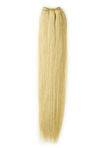 Тресса из натуральных волос 60 см. Цвет #24 Жемчужный Блонд, фото 1