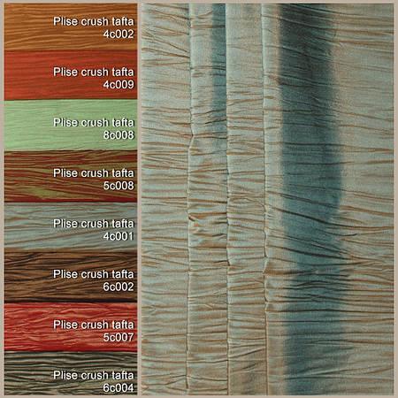 Ткань для штор Berloni Plise Crush Tafta