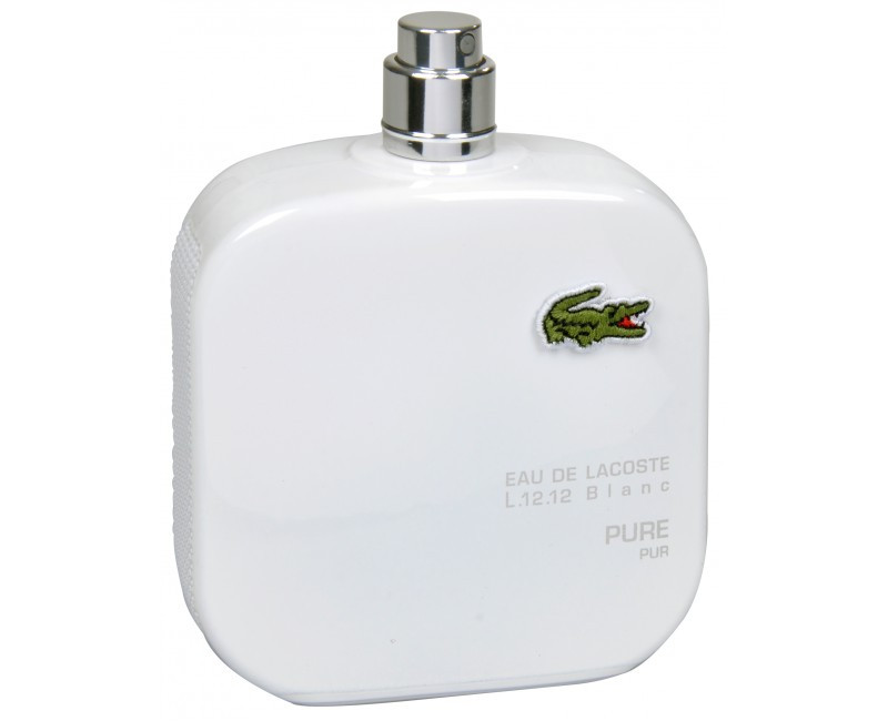 Lacoste Eau de Lacoste 12.12 Blanc туалетная вода 100 ml. (Тестер Лакост Эу Де Л.12.12 Бланк)