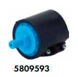 Електронагрівач EOVp 3кВт Vagner c датчиком потоку в корпусі з ПВХ 220/380В, фото 3