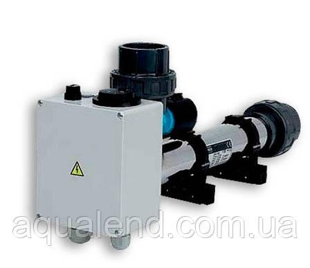 Електронагрівач EOVp 9кВт Vagner c датчиком потоку в корпусі з ПВХ 220/380В, фото 2