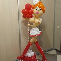 Медсестра из воздушных шариков