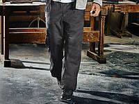 Мужские фирменные утепленные рабочие брюки POWERFIX, Германия. Спецодежда штаны для осени и зимы.