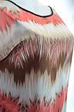 Женская оригинальная туника в полоску, фото 3