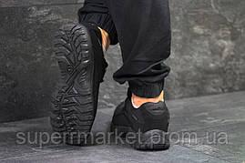Кроссовки Salomon, черные с серым, термо. Код 6469, фото 2