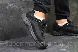 Кроссовки Salomon, черные с серым, термо. Код 6469, фото 3