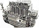 Двигатель Т-40 комплектующие запчасти