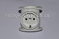 Тройник электрический универсальный Токер 16 А