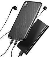 Чехол Baseus Audio для iPhone X, Black (WIAPIPHX-VI01), фото 1