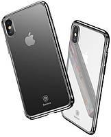 Чехол Baseus Minju для iPhone X, Black (WIAPIPHX-MJ01), фото 1