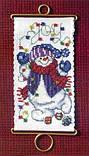 Набор для вышивки MillHill Joy Snowman, фото 2