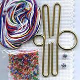 Набор для вышивки MillHill Joy Snowman, фото 3