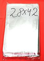 Пакеты упаковочные с липкой лентой 280*420 40мкм, (100шт)