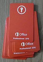 Microsoft Office Professsional  2016 ключ - карта NEW