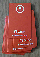 Microsoft Office Professsional  2016 ключ - карта NEW