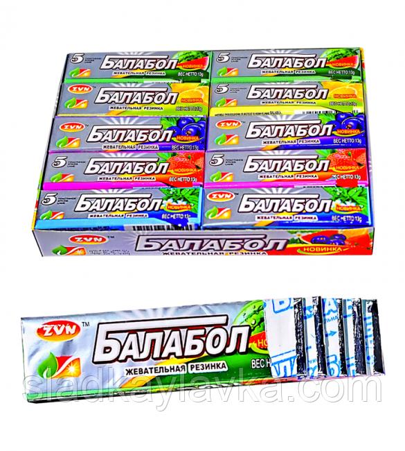 Жевательная резинка Балабол Пластинки 20 шт (ZVN)