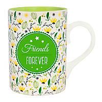 """Подарочная кружка с надписью """"Friends forever"""