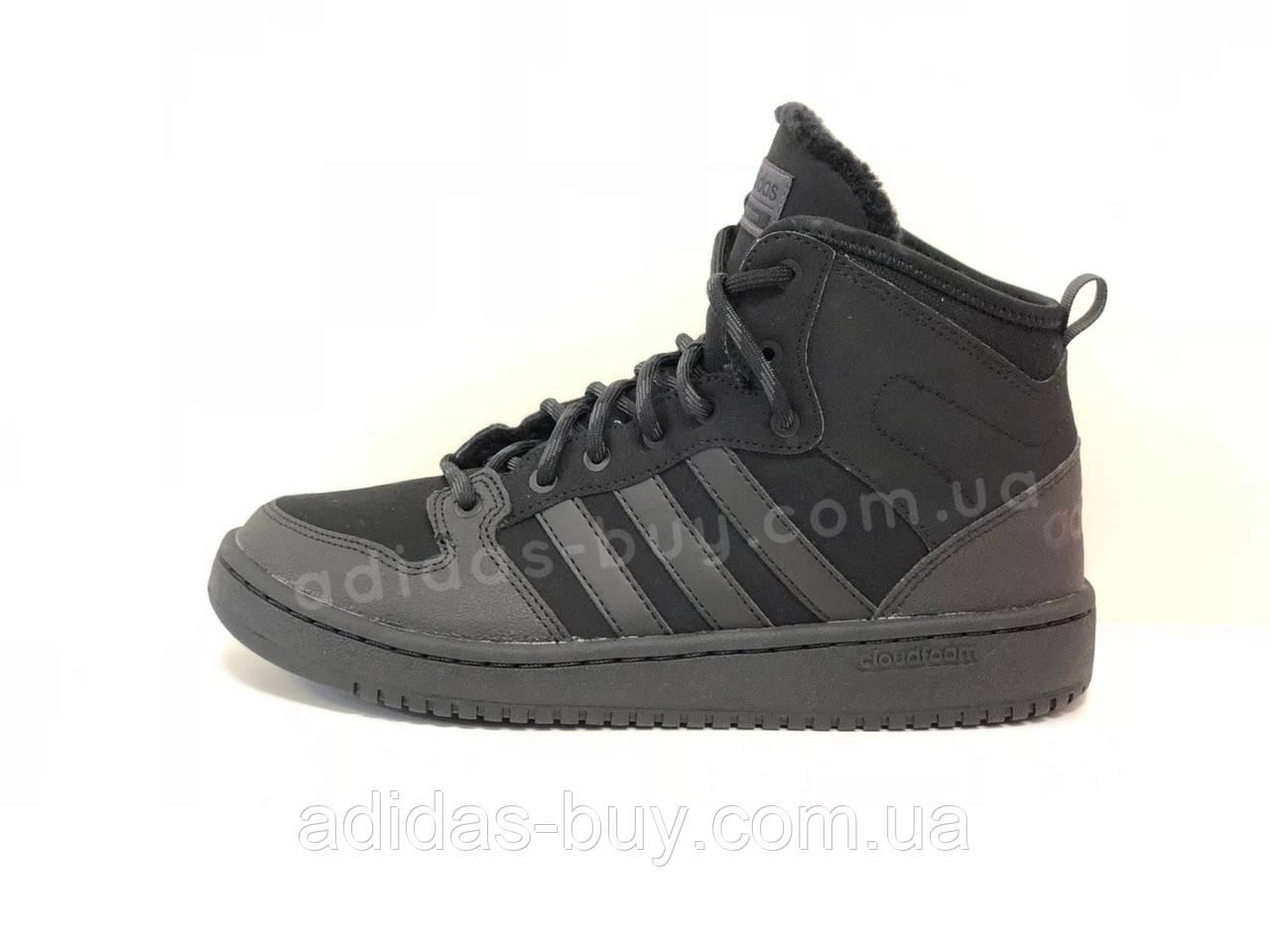 Мужские оригинальные кроссовки Adidas CLOUDFOAM HOOPS WINTER MID BB9912 -  Bigl.ua e1a87725dc0