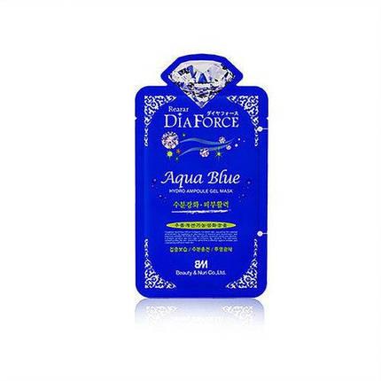 Гидрогелевая маска Rearar Dia Force Aqua Blue Hydrogel Ampoule Gel Mask, фото 2